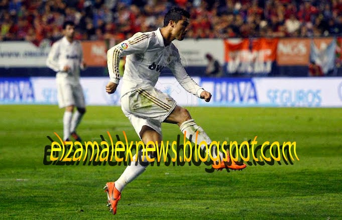 كريستيانو رونالدو هداف ريال مدريد البرتغالي الدولي