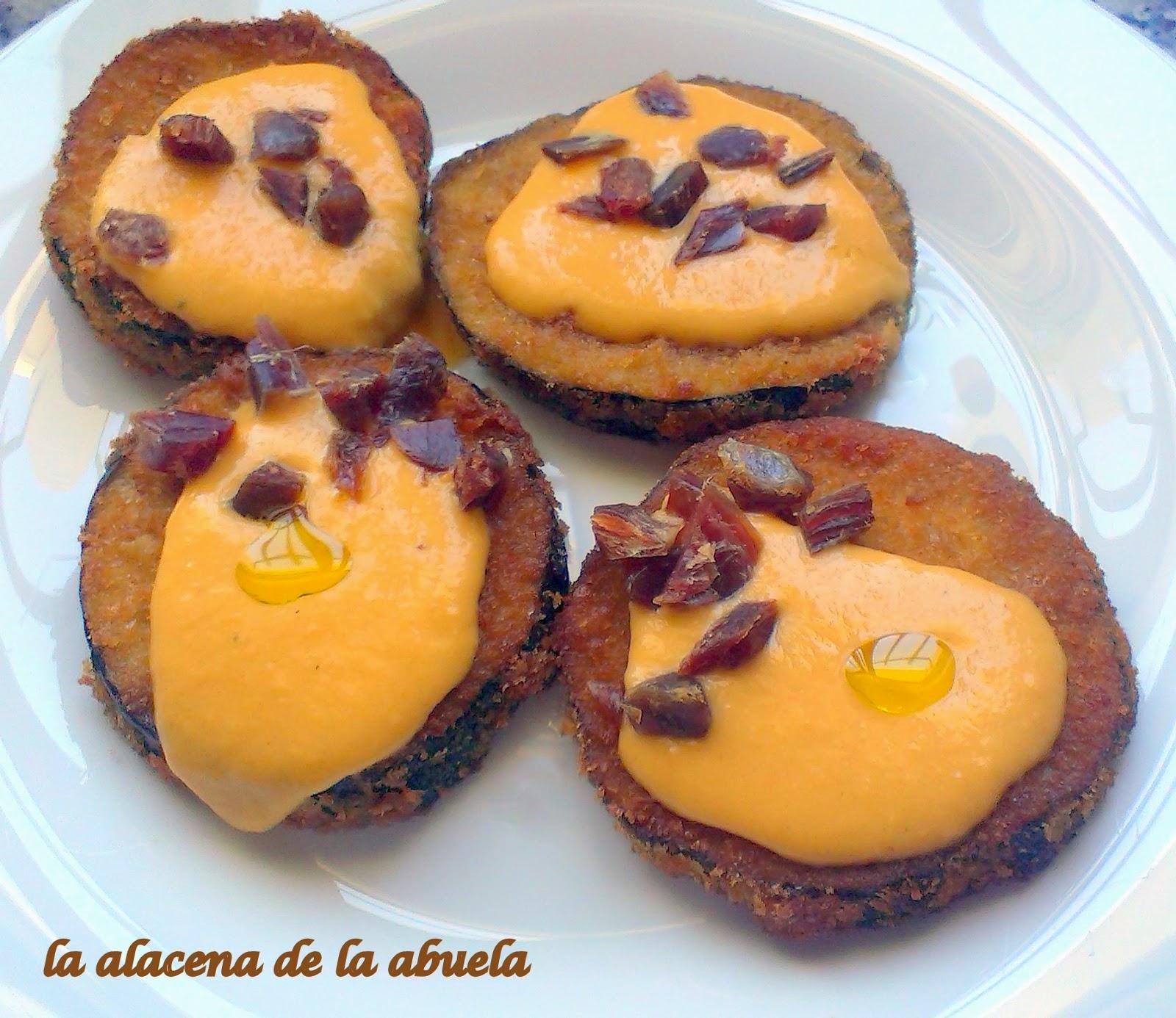 La alacena de la abuela carmen berenjenas empanadas con for Cocina casera de la abuela