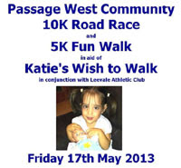 New 10k race near Cork City...