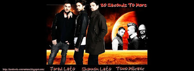 Couverture facebook timeline 30 seconds to mars