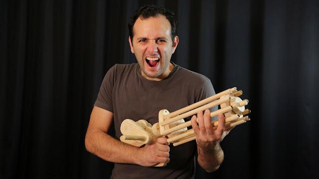 metralhadora de elasticos