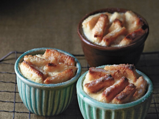 Sasaki Time: Salted Caramel Banana Bread Pudding Recipe!