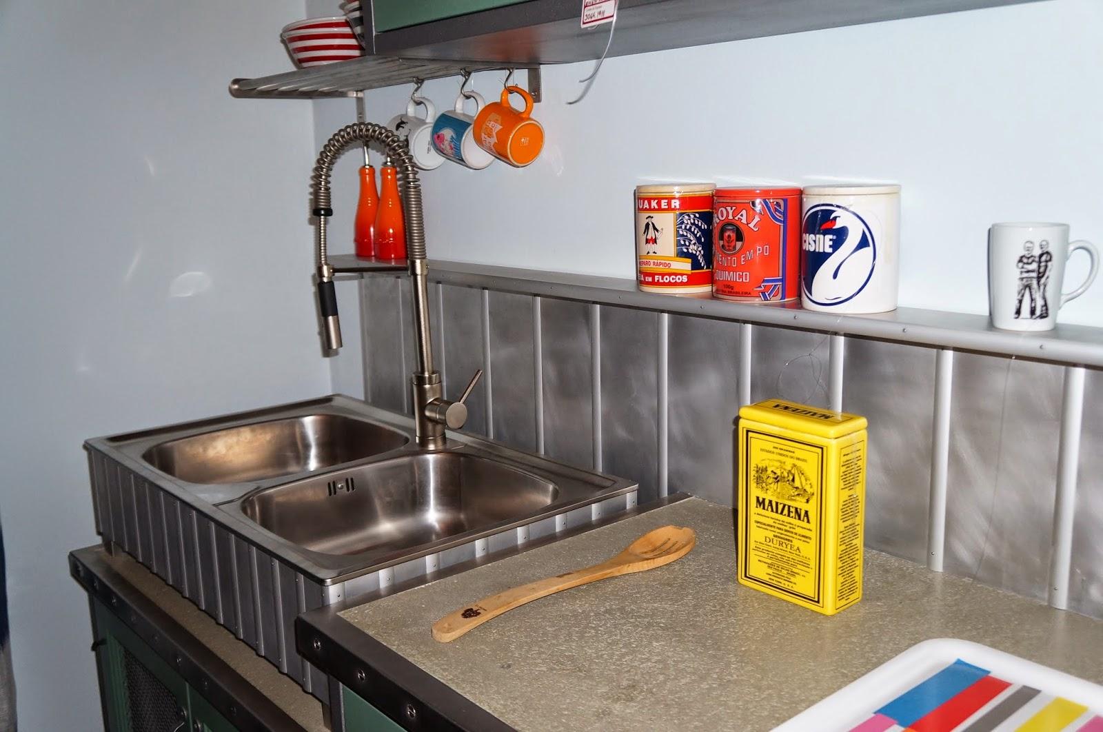 bancada para preparar alimentos  - Casa Cor SP 2014