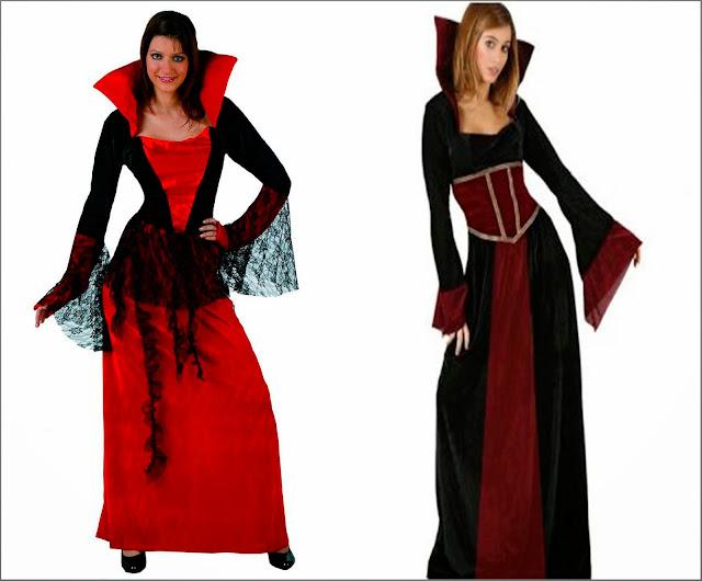 Disfraz vampiresa barato