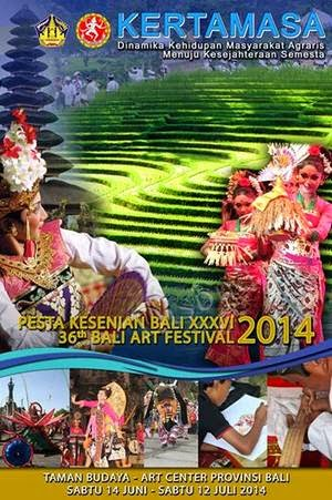 36th Bali Arts Festival 2014, June 14 to July 12, 2014