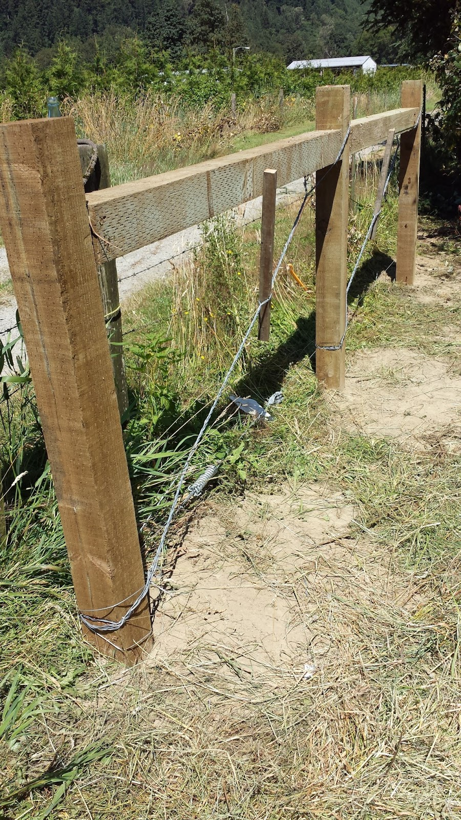 meat: High tensile fencing