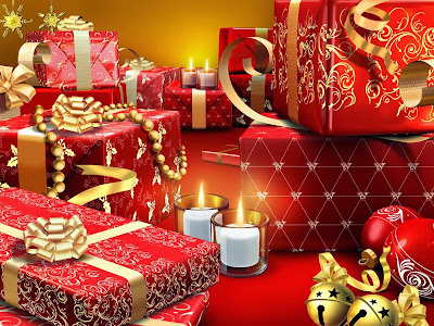 Papel de Parede Presentes de Natal para pc hd christmas gift wallpaper hd