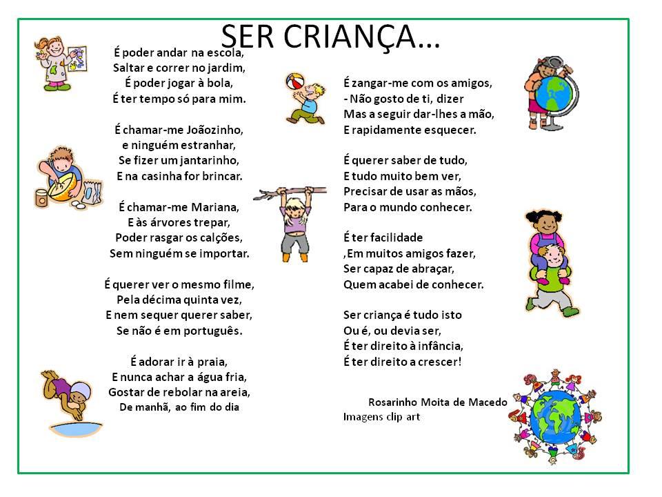 Sonhos e Companhia: E porque hoje é dia Mundial da Criança...