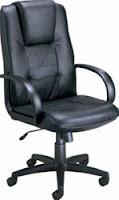 500-L OFM Hi-Back Leather Chair