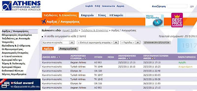El. Venizelos Airport, Istanbul flight info
