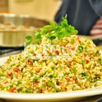 Yumurtalı Biberli Bulgur Salatası Tarifi