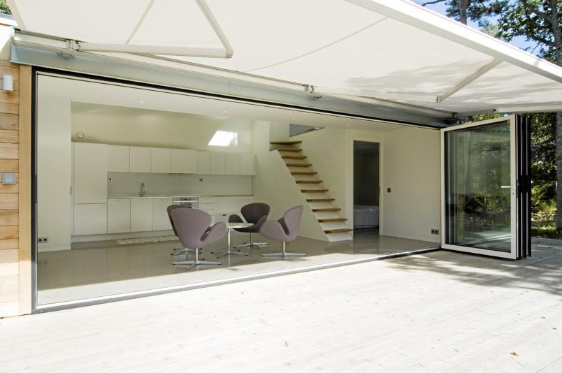 Casas minimalistas y modernas cabana moderna en estocolmo - Cabanas modernas ...