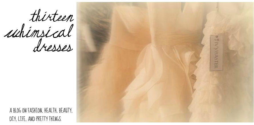 Thirteen Whimsical Dresses