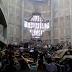 Cae cimbra con 15 toneladas de cemento sobre 40 trabajadores que remodelaban catedral en Tuxtepec