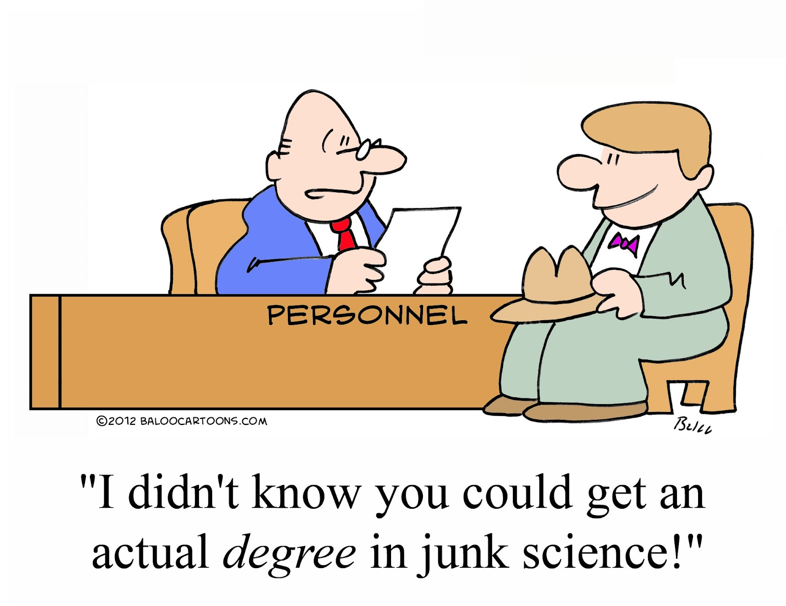 Daily science cartoon