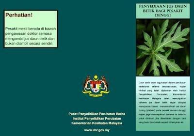 herba daun betik