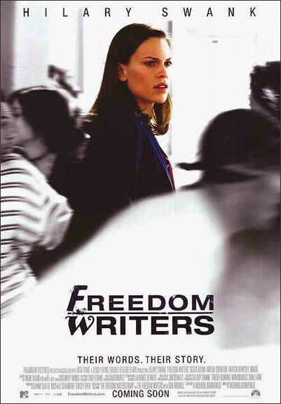 free writers movie review Freedom writers, in both book and movie form, touches on powerful themes such as self-reflection, tolerance, facing adversity, striving for success and trust use the free, downloadable service-learning supplement to assist in the planning.