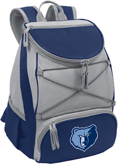 Picnic Time Memphis Grizzlies NBA Backpack Cooler