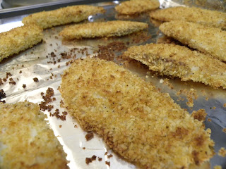 Panko-Crusted, Baked Tilapia Fillets