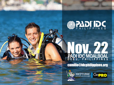 Next PADI IDC in Moalboal, Philippines starts 22nd November 2015