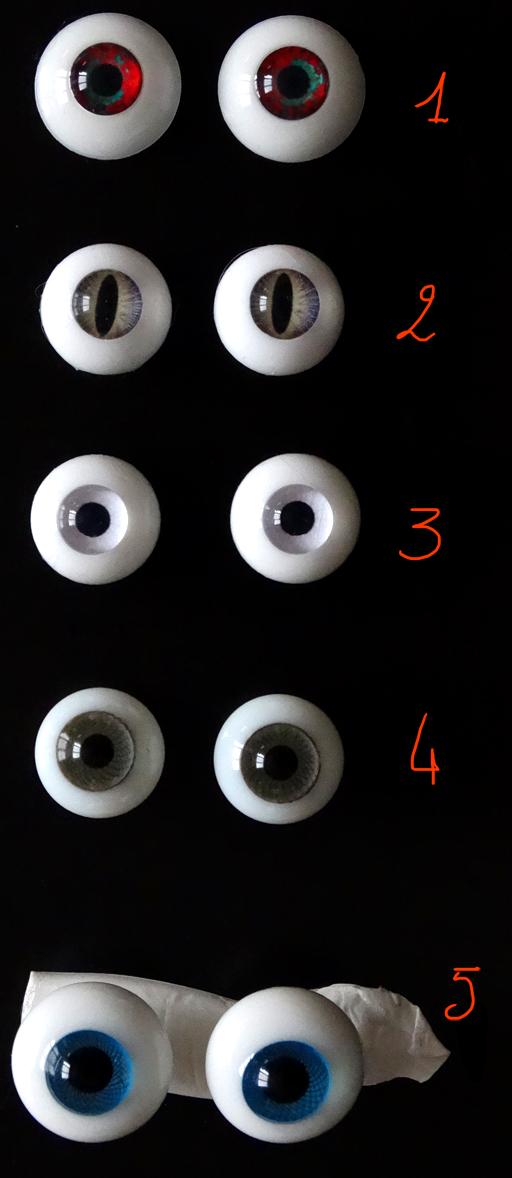 [Vds/ech] yeux 14, 15, 16 mm- [CHERCHE]WIG et yeux silicones DSC06294