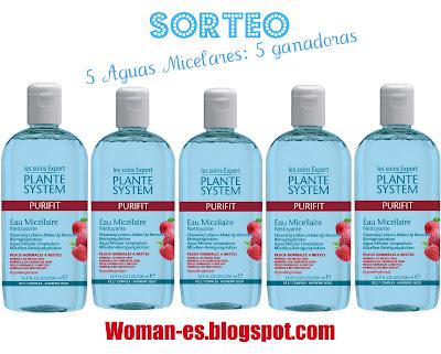 Sorteo en Woman-es.blogspot.com. Español. hasta el 4 de Marzo