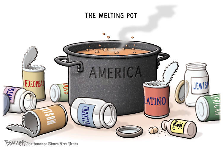 Why is America called the melting pot - answers.com