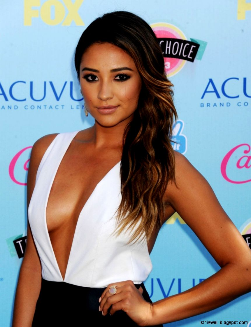 Shay Mitchell  Celebrities In Tights