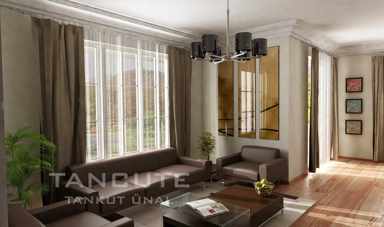 gambar desain interior rumah minimalis eropa