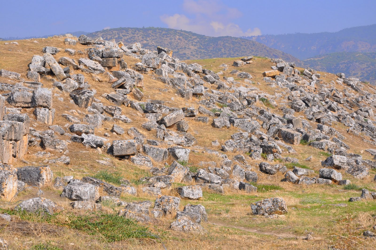 The Olive Journey: Hierapolis - Pamukkale, Denizli, Turkey