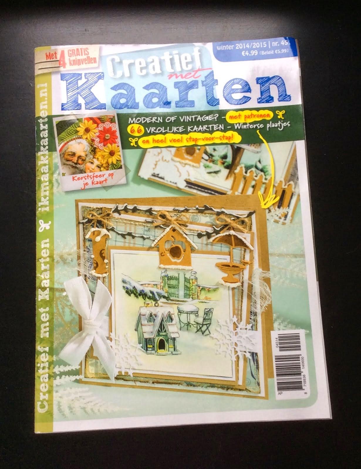 Creatief met Kaarten Winter 2014/2015