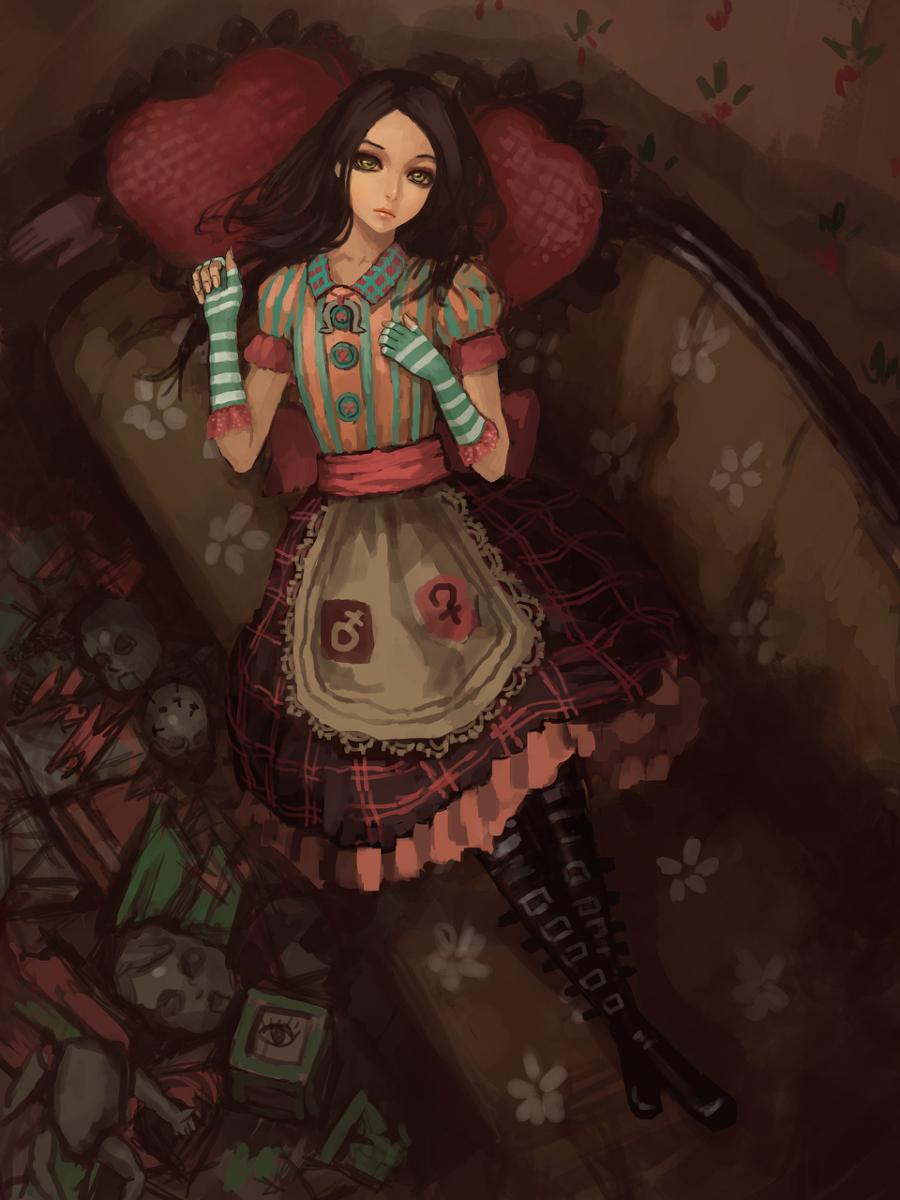 Alice Madness Returns Dresses Anime DARKNESS ETERNA...