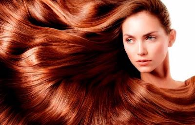 rambut pirang sehat