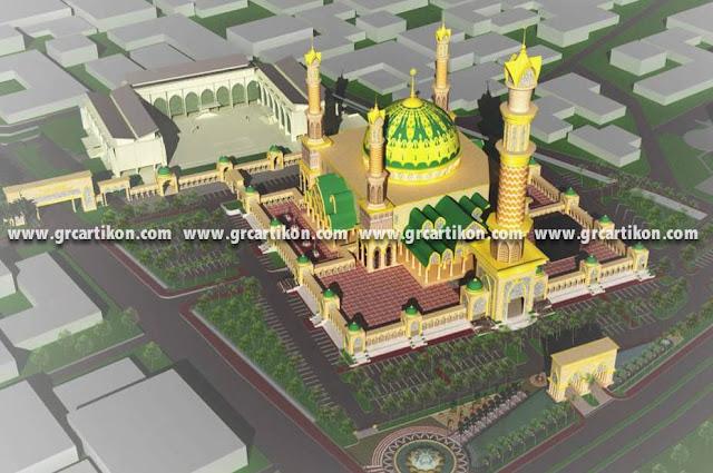 kubah grc masjid