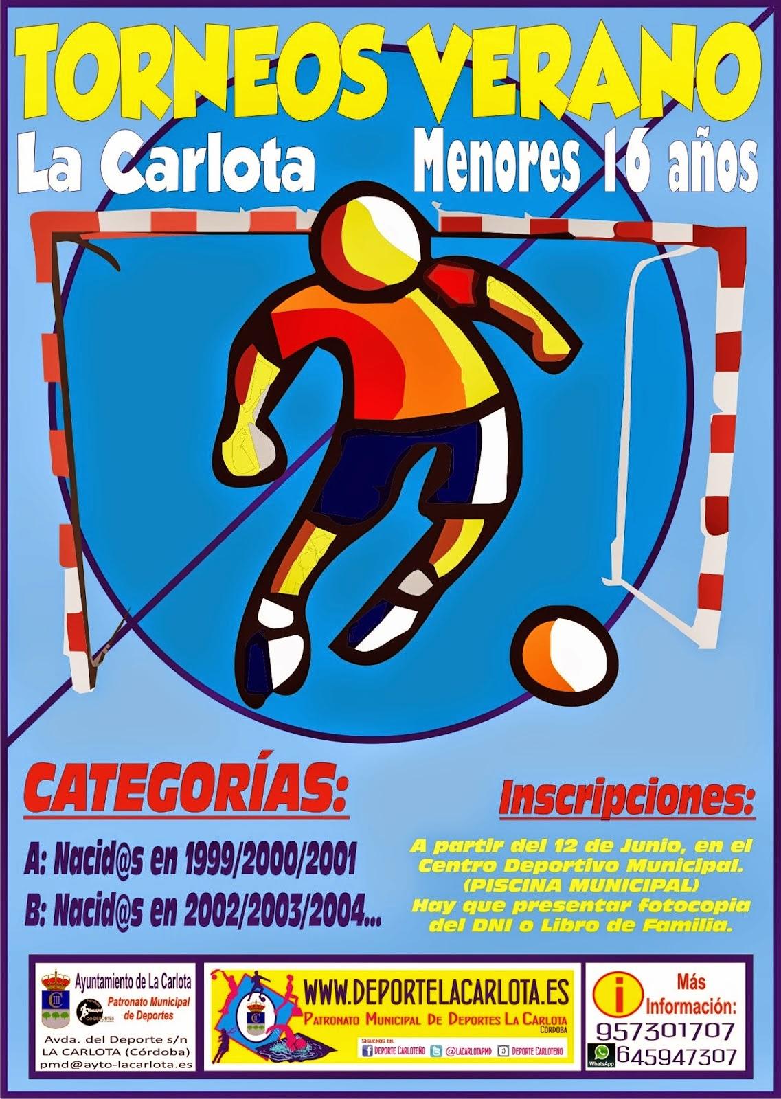 Calendario y Clasificación Fútbol Base Menores Verano