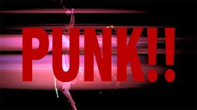 PUNK!! in large red letters over Maya and Aiji raving.