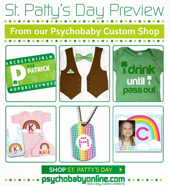 St. Patrick's Day Baby and Kids Tees & Gifts