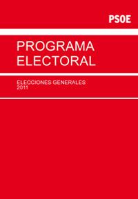 Programa electoral elecciones generales 2011 PSOE