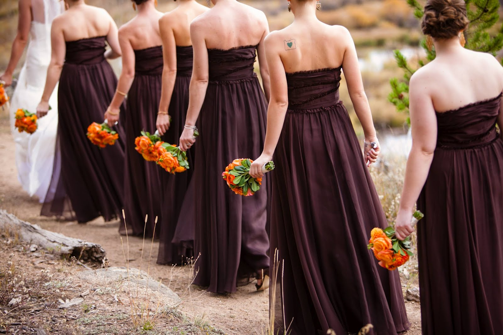 Image result for bridesmaid dresses in fall colors bridesmaid image result for bridesmaid dresses in fall colors bridesmaid dresses pinterest ombrellifo Images
