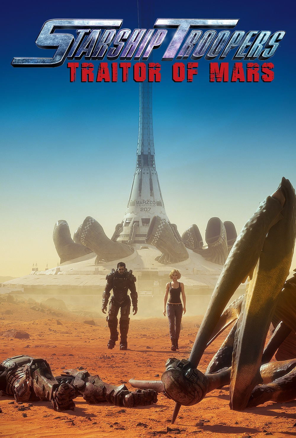 Tropas Estelares Invasores de Marte Legendado
