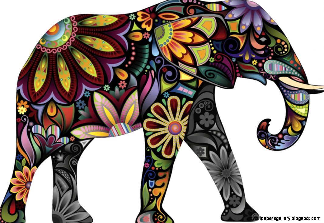 indian elephant art wallpapers gallery
