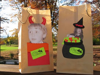 Kids-Photo-Hallloween-Treat Sacks