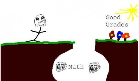 Studying maths and taking good grades ~ my true story