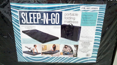 Ace Bayou Sleep-N-Go Portable Folding Mattress: great for yoga class or sleepovers