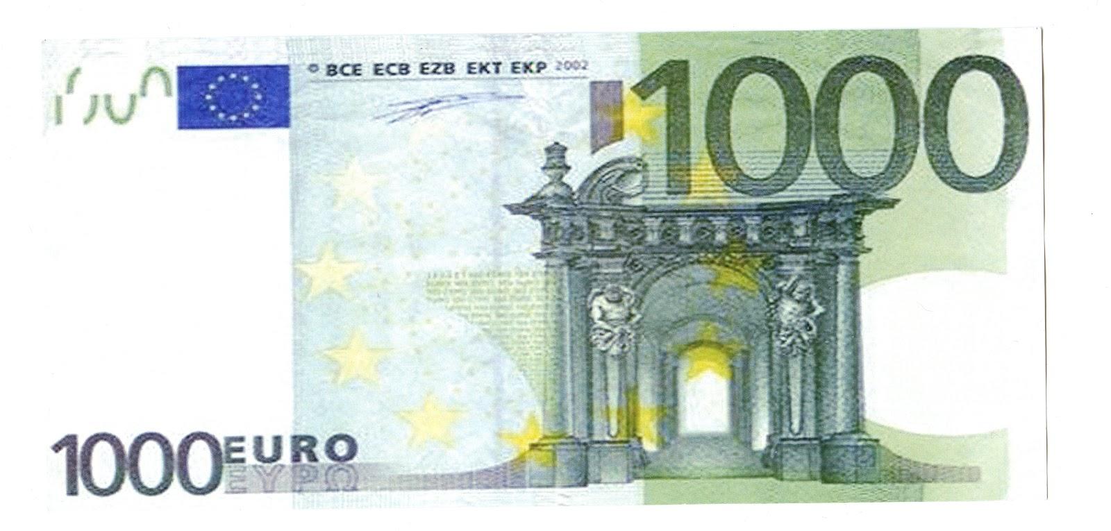 Attac+Bonn+1000+Euro+Schein+Vorderseite.