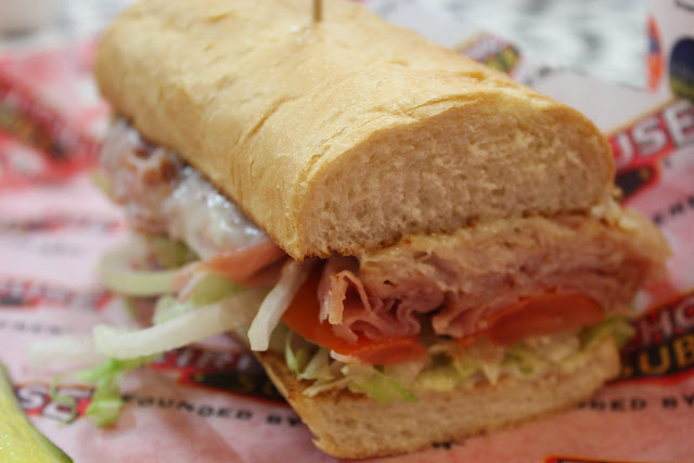 Hook & Ladder Sub at Firehouse Subs, Boston, Mass.