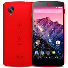 Google Nexus 5 Resmi Rersedia Dalam Warna Merah