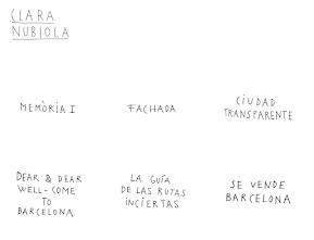 LOS VACÍOS URBANOS SON CLARA NUBIOLA Y CLARA NUBIOLA es ...