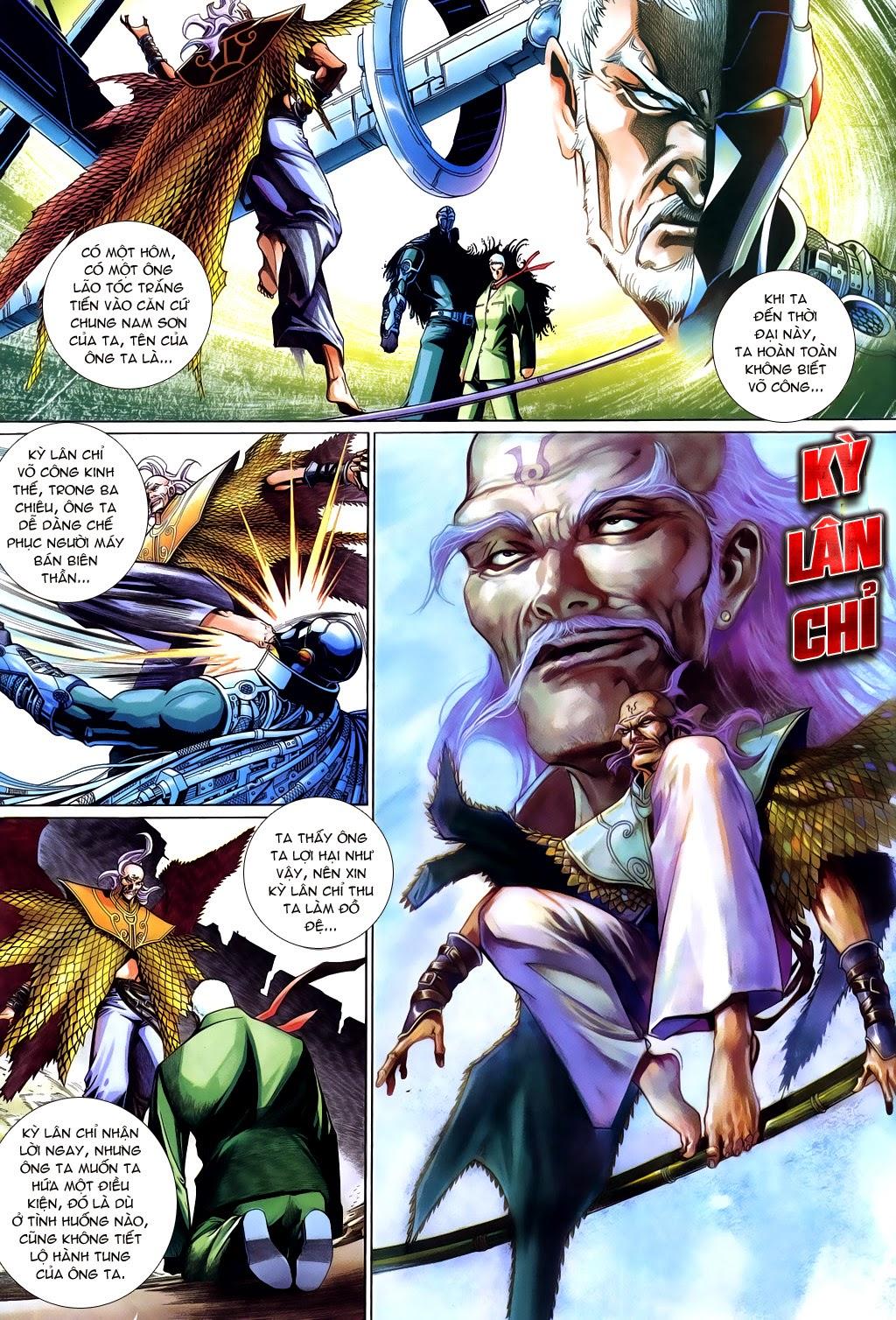 Phong Vân Tân Tác Thần Võ Ký Chap 20 - Next Chap 21