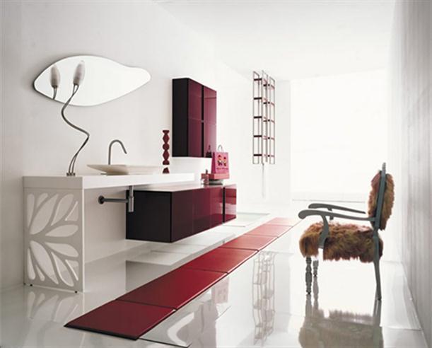 Home design interior decor home furniture for Modern italian bathroom designs